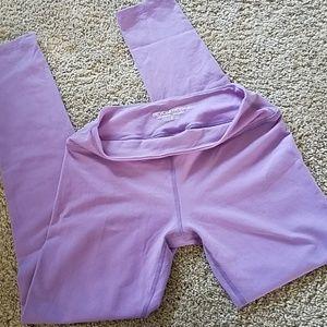 Beyond Yoga lilac purple leggings large